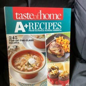 A+ recipes cookbook